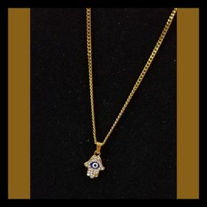 Jewelry - HAMSA HAND SYMBOL NECKLACE
